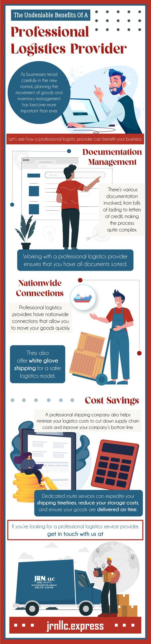 benefits of professional logistics provider